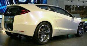Honda CR-Z - O novo coupé híbrido vista tres quartos traseira