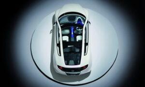 Honda CR-Z - O novo coupé híbrido vistas de cima
