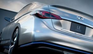 Infiniti LE Concept salão automóvel paris rear view