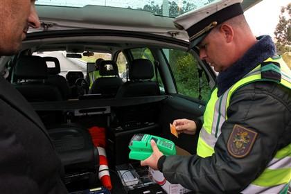 Infracções ao Código de Estrada! Receitas de multas renderam mais 223 mil euros dia