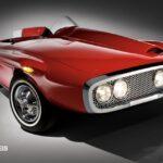 Leiloado o Plymouth XNR! O automóvel de Luxo que nunca entrou no mercado.