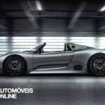 New 2013 Porsche 918 Spyder Interior perfil esquerdo
