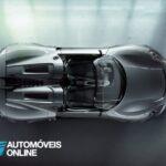 New 2013 Porsche 918 Spyder Interior vista de cima