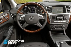 New Mercedes Benz ML 250 blueTec 2013 interior view