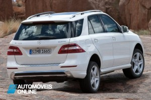 New Mercedes Benz ML 250 blueTec 2013 rear view