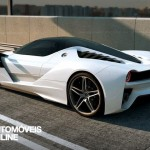 New ferrari f70 v12 concept let side rear