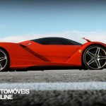 New ferrari f70 v12 concept right side