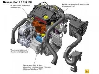 Novo motor DCi da Renault mais eficiente.