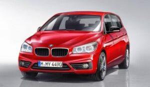 O primeiro BMW de tracção dianteira