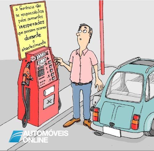 Sabe quanto é que paga a mais por um depósito de combustível