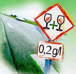 Taxa de Alcoolemia vai baixar dos 0,5 para 0,2 gramas por litro de sangue