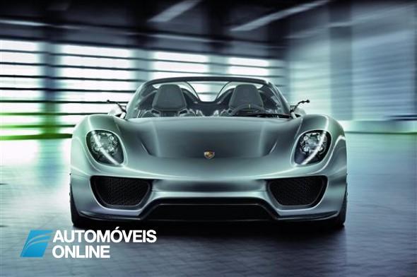Vídeo do Porsche 918 de Produção