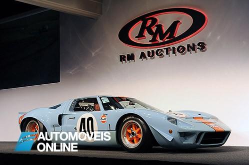 Vendido em leilão. Ford GT40 atinge valor recorde