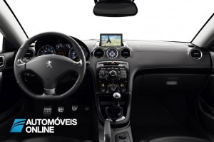 2013 restyle Peugeot RCZ interior view