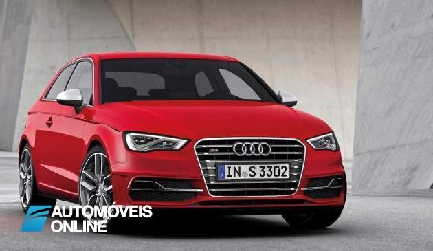 300 CV Potência! Novo Audi S3 2013