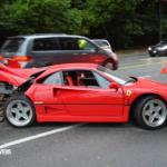 Acidente Ferrari F40 vancouver
