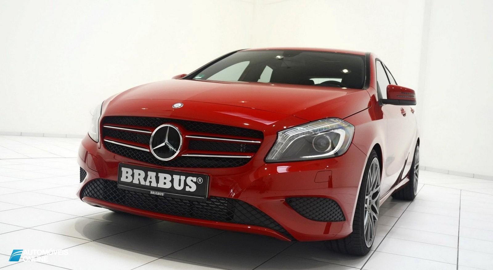 Brabus prepara o novo Mercedes Classe A