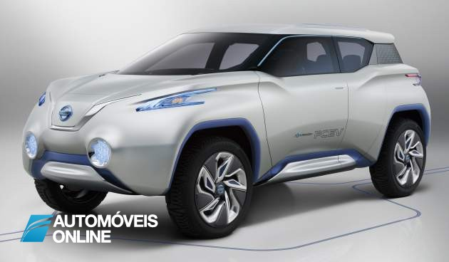 Exuberante! Concept Nissan Terra – Tablet em vez do painel de instrumentos
