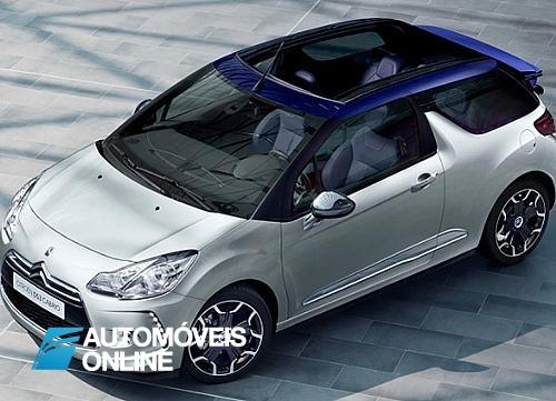 Lindo! Apresentação do Novo Citroen DS3 Cabriolet 2013