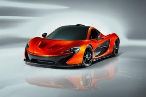 McLaren P1 2013 front view