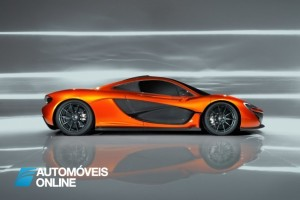 McLaren P1 2013 profile view