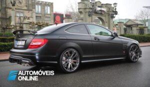 Mercedes-benz Classe C Brabus 2013 800cv profile view