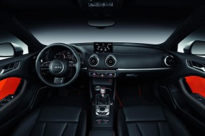 New Audi A3 Sportback 2013 interior front view