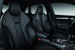 New Audi A3 Sportback 2013 seet front view