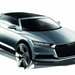 New Audi Q2 Crosslane Coupé Suv Plug-in híbrido 2012 Draft quarter front right view