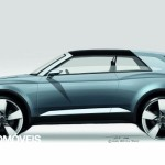 New Audi Q2 Crosslane Coupé Suv Plug-in híbrido 2012 draft profile view