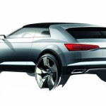 New Audi Q2 Crosslane Coupé Suv Plug-in híbrido 2012 draft quarter rear left view