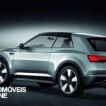 New Audi Q2 Crosslane Coupé Suv Plug-in híbrido 2012 quarter rear left view
