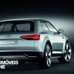 New Audi Q2 Crosslane Coupé Suv Plug-in híbrido 2012 rear view