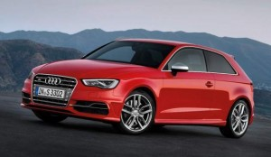 New Audi S3 2013 Quarter front left view