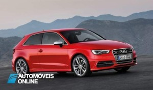 New Audi S3 2013 Quarter front right view