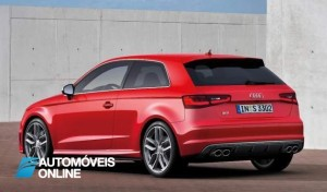 New Audi S3 2013 Quarter rear left view
