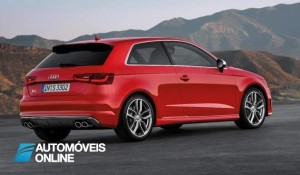 New Audi S3 2013 Quarter rear right view