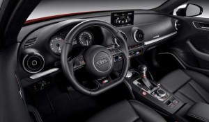 New Audi S3 2013 Quarterinterior view