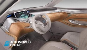 New Concept Nissan Terra 2013 interior view