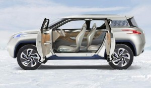 New Concept Nissan Terra 2013 profile view