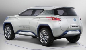 New Concept Nissan Terra 2013 rear view