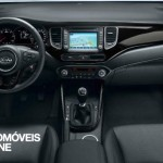 New Kia Carens 2013 interior view