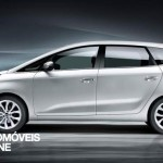 New Kia Carens 2013profile view