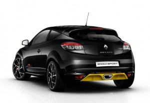 New Mégane RS Red Bull RB7 2013 rear view
