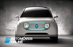 New Renault 4lectric front view