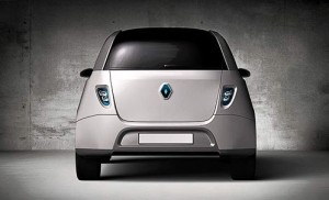 New Renault 4lectric rear view