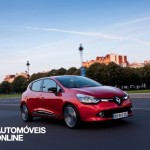 New Renault Clio 2013 quarter front view