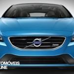 New Volvo V40 R-Design 2013 front view