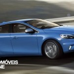 New Volvo V40 R-Design 2013 profile view