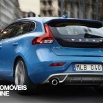 New Volvo V40 R-Design 2013 quarter rear view